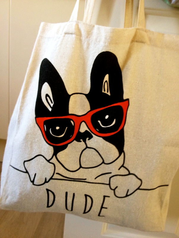 French Bulldog Carrier Bag