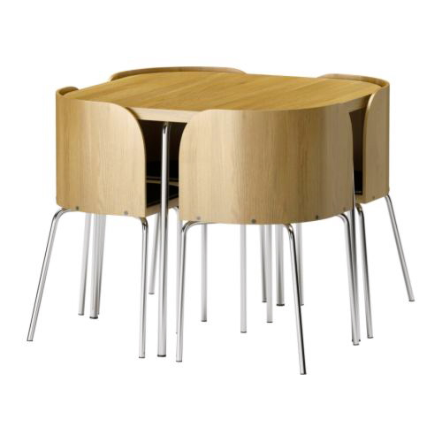 Table ronde en bois ikea great previous image next image for Ikea snack table
