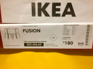 Ikea Fusion Table