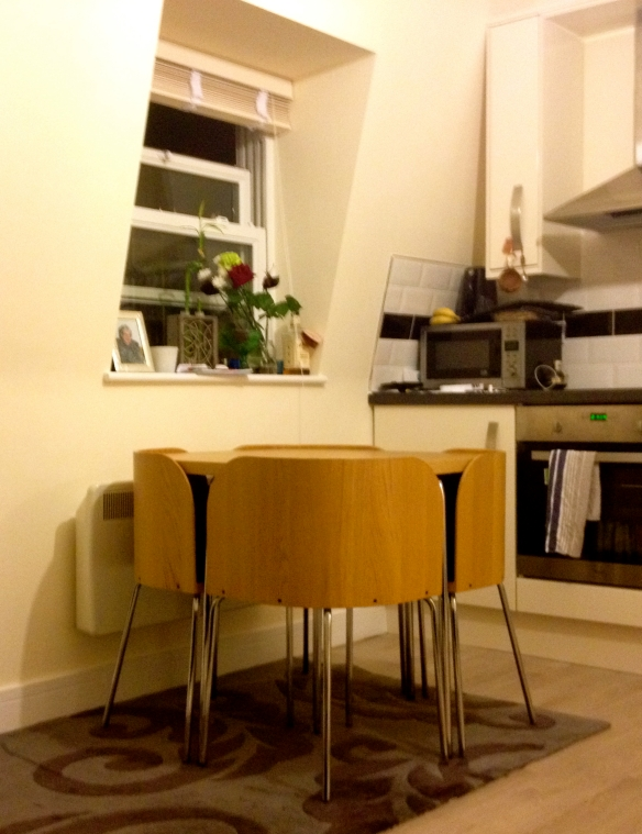 Ikea Fusion Table Simple Cheap Space Saving Wonder The Colour Yellow