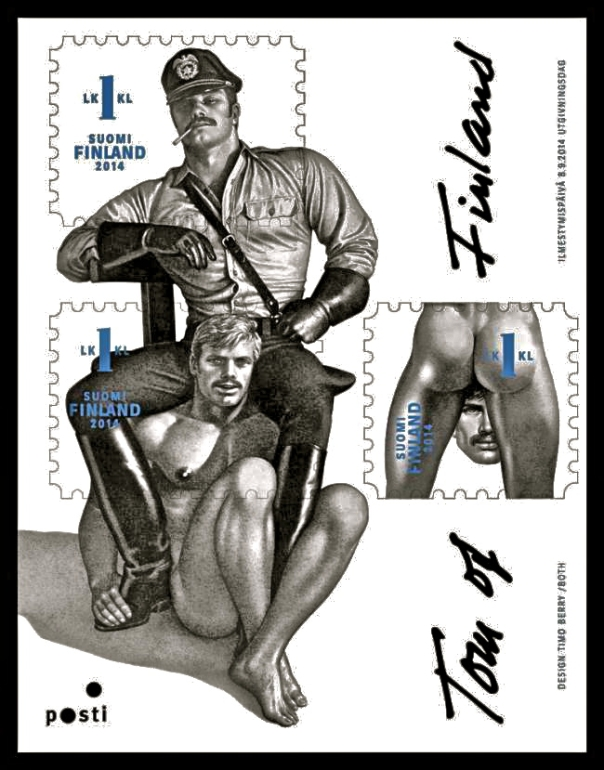 Tom of Finland Stamps