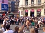 London Naked Bike Ride 2014